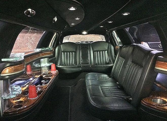 Black Lincoln Town Car Limousine