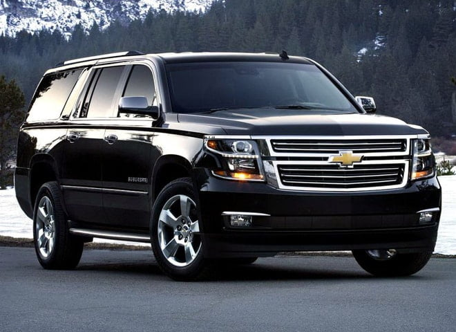 Chevy Suburban Luxury SUV Ontario