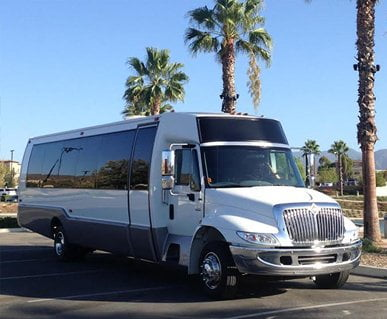 LUXURY LIMO BUS/PARTY BUS